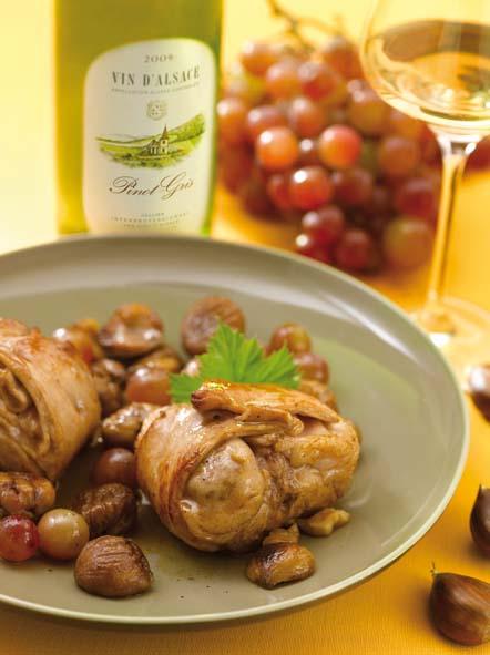 R bles de lapin po l s aux raisins et ch taignes savoir - Cuisiner chataignes fraiches ...