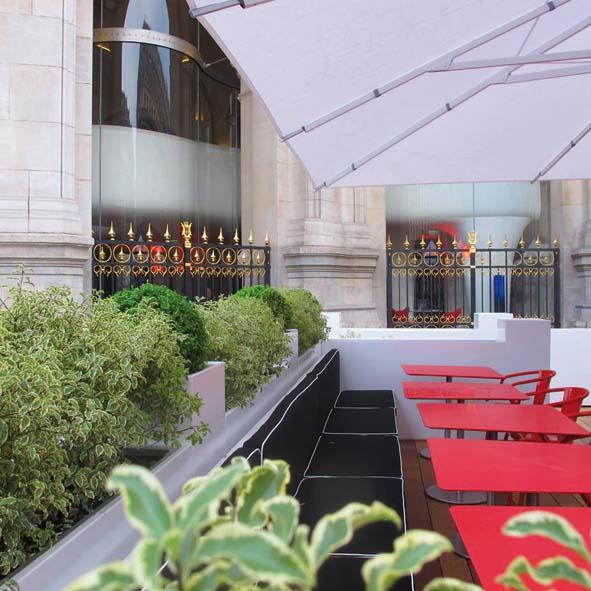 Nouvelle terrasse Opéra Restaurant