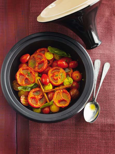 Tajine tomates au miel et à la cannelle© Le Creuset – Borgerhoff & Lamberigts