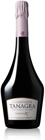 Tanagra Brut rosé Lombard&Cie bouteille