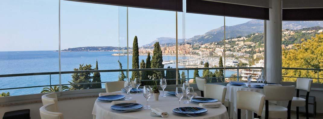 Salle de restaurant Mirazur