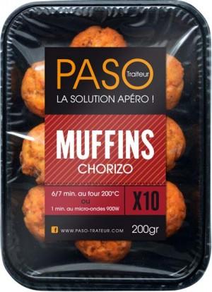Du nouveau pour l'apéro avec un muffin au Chorizo