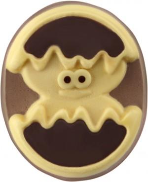 Ne sont-ils pas craquants ces poussins glacés ? Trop mignons avec leurs yeux expressifs et leur petite bouille à la Calimero. Petits et grands vont fondre pour cette alliance de crème glacée vanille, chocolat et sauce chocolat ! 2 x 90 ml, 3,95 € (www.picard.fr).