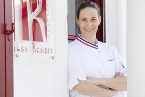 Andrée ROSIER Restaurant Les Rosiers à Biarritz.
