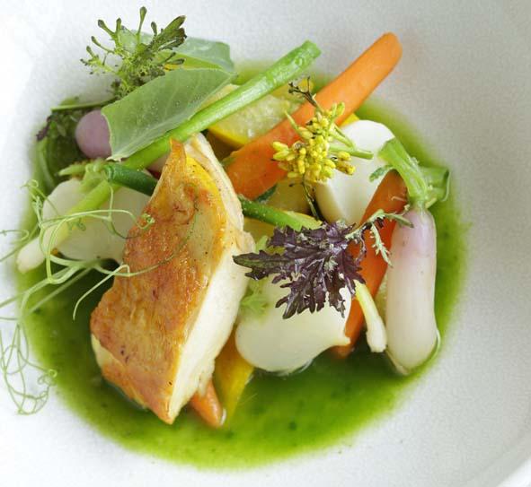 Une recette de Jean-François Pantaleon du restaurant Coretta pour Albal.