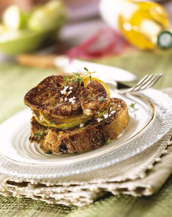 Foie gras po l sauce caramel savoir - Cuisiner foie gras cru ...