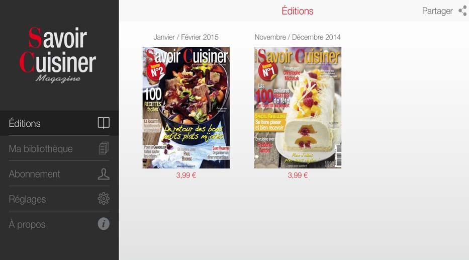 La Nouvelle Application Savoir Cuisiner Savoircuisinerfr - Appli cuisine