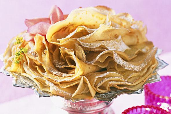 Crêpes à l'eau de rose - © FOD/CEDUS