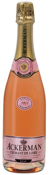 Crémant de Loire rosé brut, Cuvée 1811 (5,90 €)