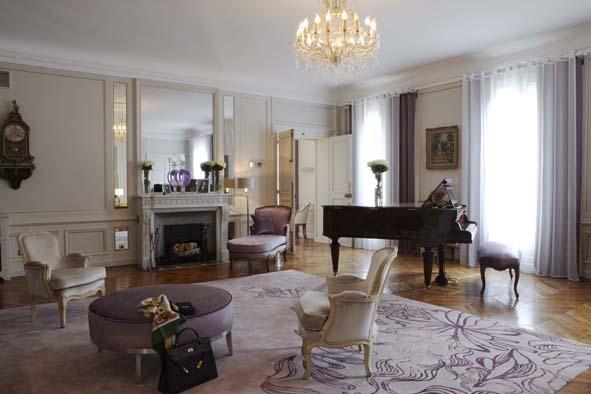 Dîner à la façon de Marlène Dietrich à l'Hôtel Lancaster 5*