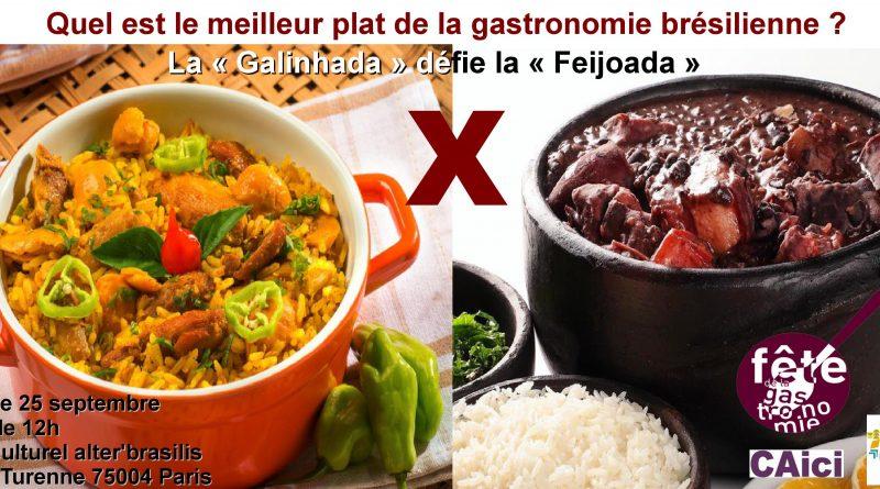 Le duel gastronomique : La «Feijoada» X La «Galinhada»