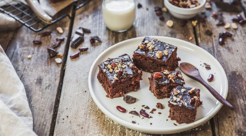 Brownie chocolat haricots rouges