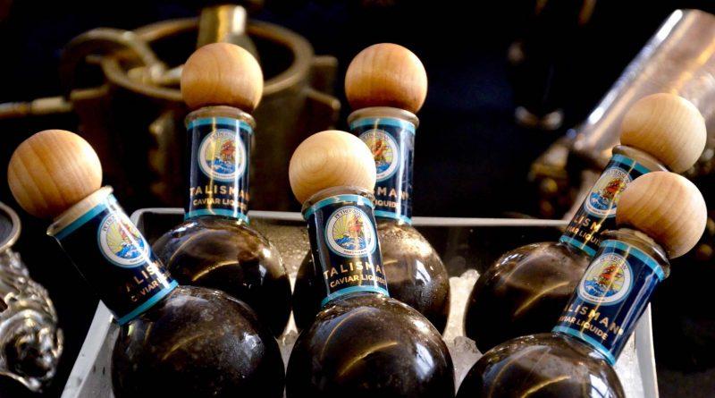 Armen Petrossian invente «Talisman», le premier élixir 100 % caviar!