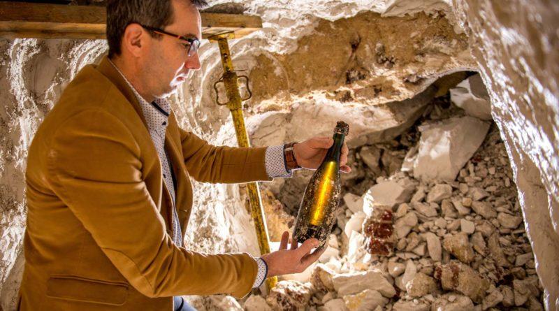 Champagne Pol Roger: des bouteilles ensevelies depuis 118 ans retrouvées intactes