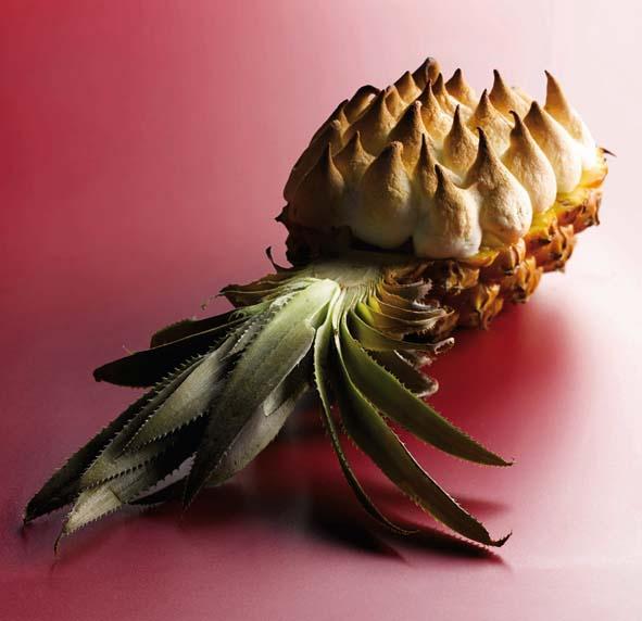 Gratin d'ananas © Patrick Rougereau
