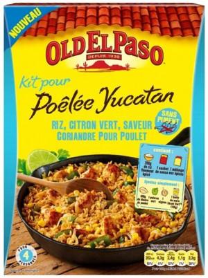 Poêlée Yucatan Old El Paso