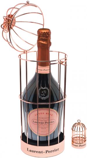 Cage Cuvee Rose Laurent-Perrier
