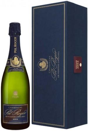 Coffret Churchill 2002 + bouteille