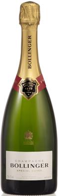 Nouvelle bouteille spécial cuvée Bollinger