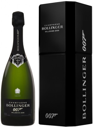 Bollinger Spectre Limited Edition Bottle + gift box
