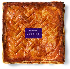 Galette Frangipane et miel de lavande de Provence 4 Ö 6 pers. Monoprix Gourmet 14e90_S
