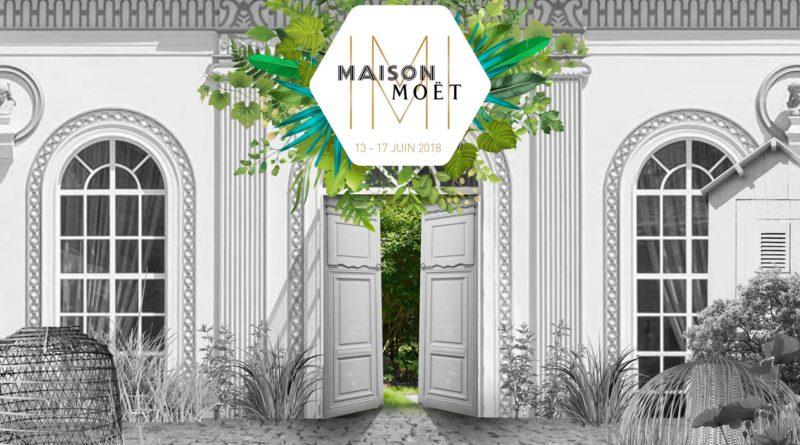 La Maison Moët & Chandon éphémère est de retour du 13 au 17 juin à Paris