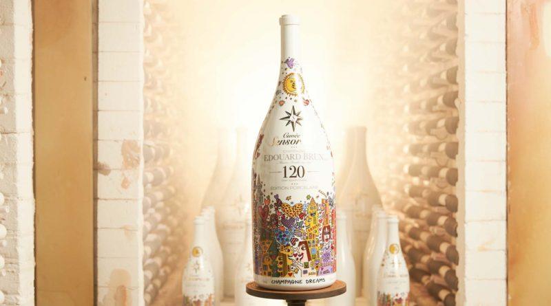 Cuvée Sensorium invente la bouteille de champagne en porcelaine !
