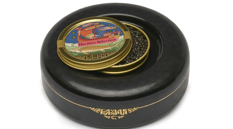 Kaspia lance «No Ice», un présentoir à caviar révolutionnaire