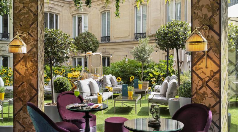 L'hôtel Barrière Le Fouquet's dévoile son nouveau restaurant «Le Joy»
