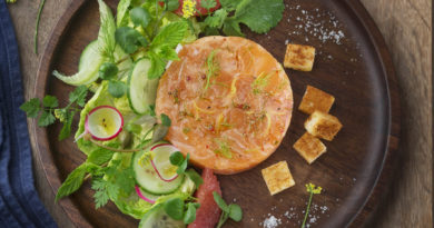Palet Salma et salade fraîcheur