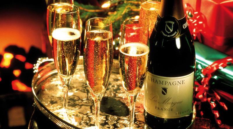 Le champagne, c'est le vin de la fête !