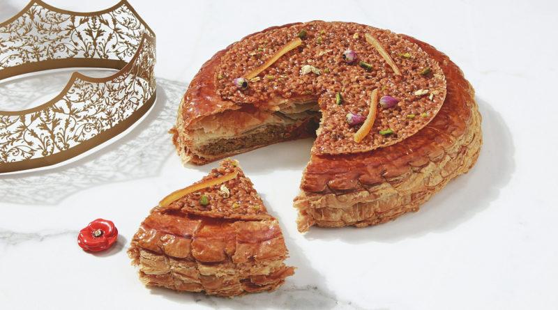 Néroli, la galette délicieusement fleurie de Ladurée