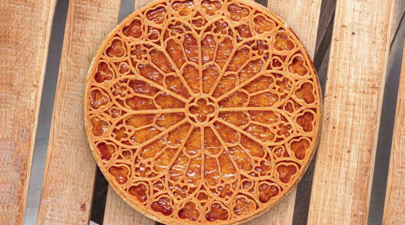 Nina Métayer créée la galette «rosace» en hommage à Notre-Dame de Paris