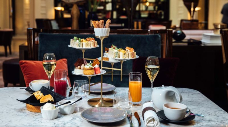Tea time à l'hôtel Lutetia Paris