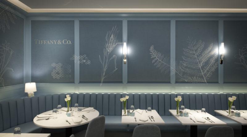 Tiffany & Co. ouvre le Blue Box Café chez Harrods à Londres