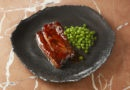 Tendrons de veau cuisinés au tandoori, petits pois à la sariette